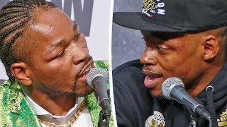 HEATED! Errol Spence vs Shawn Porter ERUPTS at POST FIGHT PRESS CONFERENCE