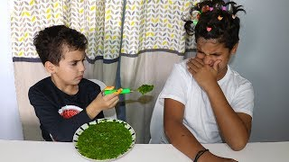 Sami pretend play being a nanny, funny videos for kids, les boys tv