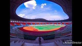 "Theme Song Asian games 2018 Jakarta Palembang "" Bright as the sun """