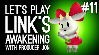 Link's Awakening Switch Gameplay: Link's Awakening with Producer Jon Pt 11 - TRADING QUEST END GAME?