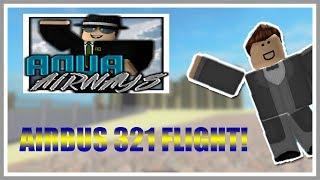 ROBLOX Voos da Aqua Airways A321 #3
