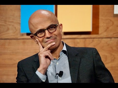 Tech support with Microsoft CEO Satya Nadella