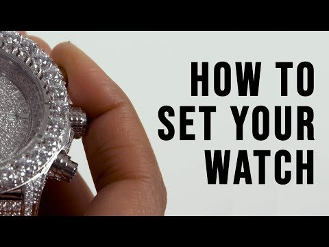 How To: Setting Your King Ice Watch
