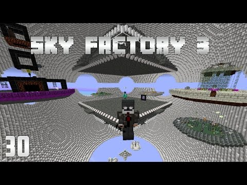 Sky Factory 3 Episode 30  - OP Mob Farm - Resturbed Spanwers