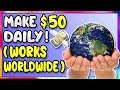 How To Make Money Online | Work From Home Job (EASY $50+ Per Day)