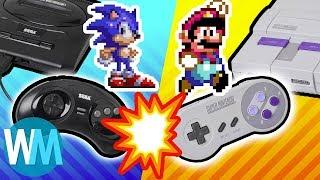 Top 10 Console War Winners!