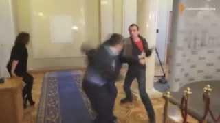 Бой Соболев в Верховной раде бокс