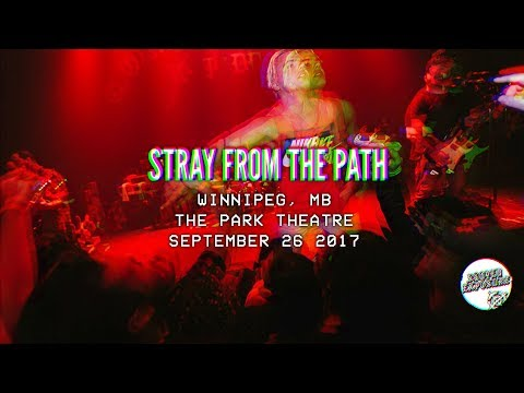STRAY FROM THE PATH - Winnipeg 09/26/2017