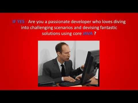 Recruit and Deliver_Senior Java Devs