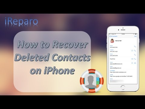 Iphone Contacts Disappeared How To Restore Deleted Contacts On Iphone 6s 5s