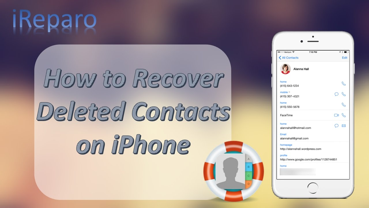 how to retrieve deleted contacts iphone 2017 iphone contacts disappeared how to restore deleted 1941