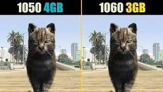 GTA 5 GTX 1050 Ti 4GB Vs GTX 1060 3GB