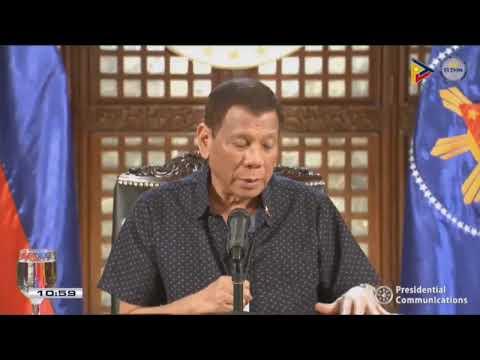 President Duterte Addresses The Nation | Monday, April 6