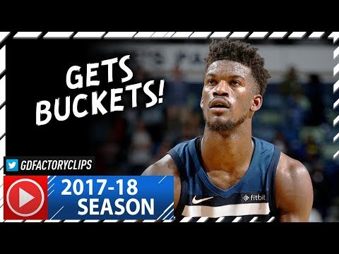 Jimmy Butler Full Highlights vs Pelicans (2017.11.01) - 23 Pts, CLUTCH!