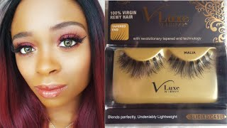 $6.00 REMY LASHES!! I Envy V Luxe Remy Lash Review