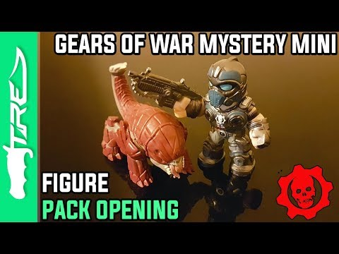 Gears of War 4 Mystery Mini Vinyl Figure Unboxing - 13 GEARS OF WAR PACKS + BONUS Gears Funko