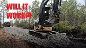 Installing A Recycled Concrete Road & Pad Over Mud