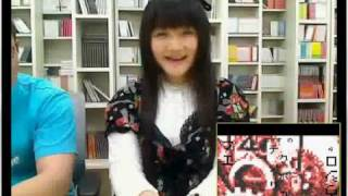 清水愛のニコニコ愛Lan℃ -2010.4.23 のニコニコ生放送.