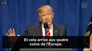 selon donald trump il y a tellement d attaques terroristes en europe que la presse n en parle plus
