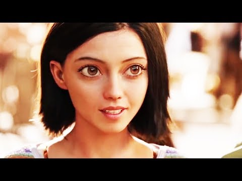 Alita: Battle Angel Trailer 2018 Rosa Salazar Movie - Official