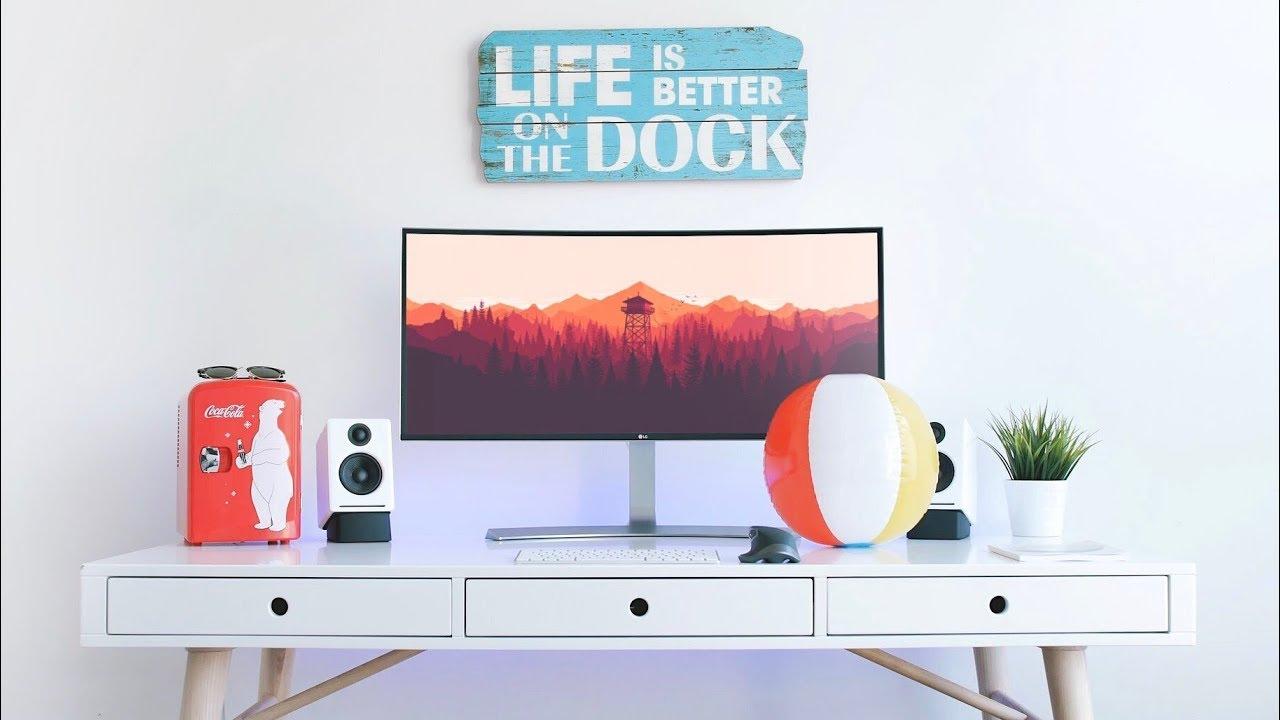 Great Ultrawide Desk Setup Tour! (2017)