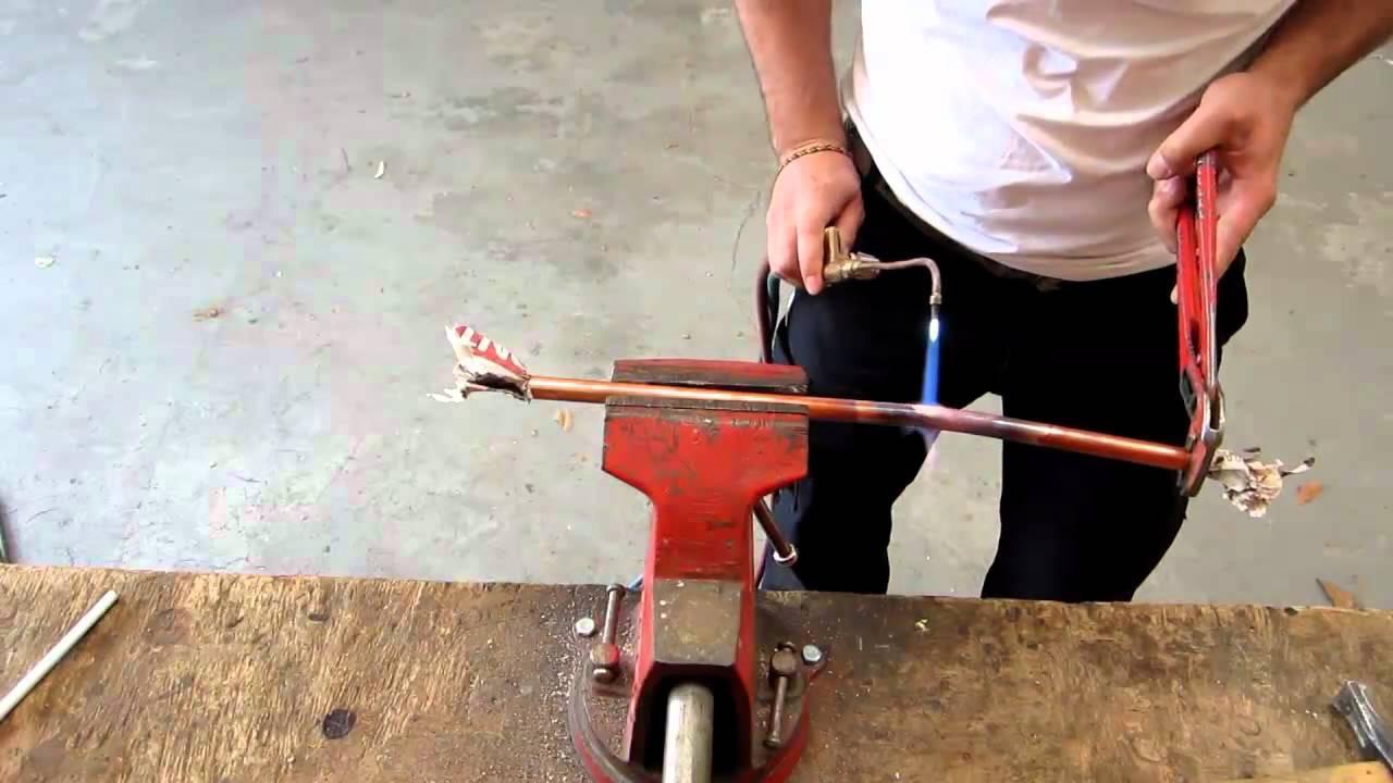 Comment realiser une cuillere en cuivre tuto video youtube - Comment faire une soudure a l etain ...
