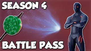 FORTNITE SAISON 4!! Nouvelle vue d'ensemble battle Pass!! (Thème du héros) Fortnite: Bataille Royale