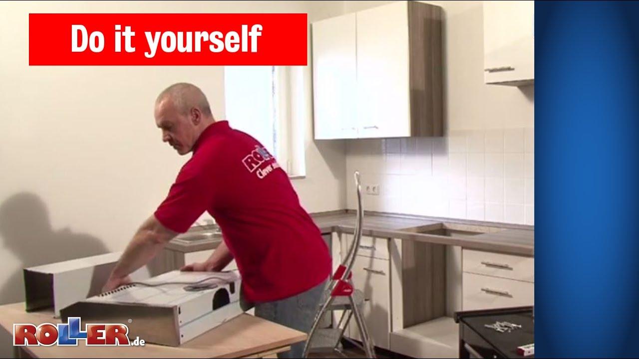 Küchen Elektrogeräte Montieren   ROLLER Do It Yourself