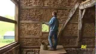 Дом из глины и соломы или как строят мазанку в Германии(Сайт: http://economdom.in.ua/ Подобоную технологию строительства дома из глины можно встретить в старых мазанках..., 2014-03-02T20:04:50.000Z)