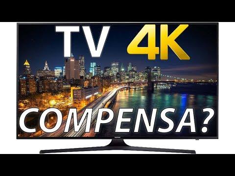 TV 4K BOA E BARATA! Samsung MU6100 (Vale a pena?)