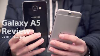 samsung galaxy a5 2016 review feat htc one a9