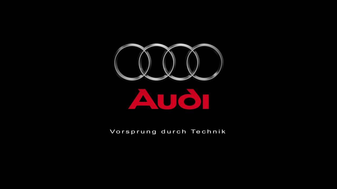 audi logo - youtube