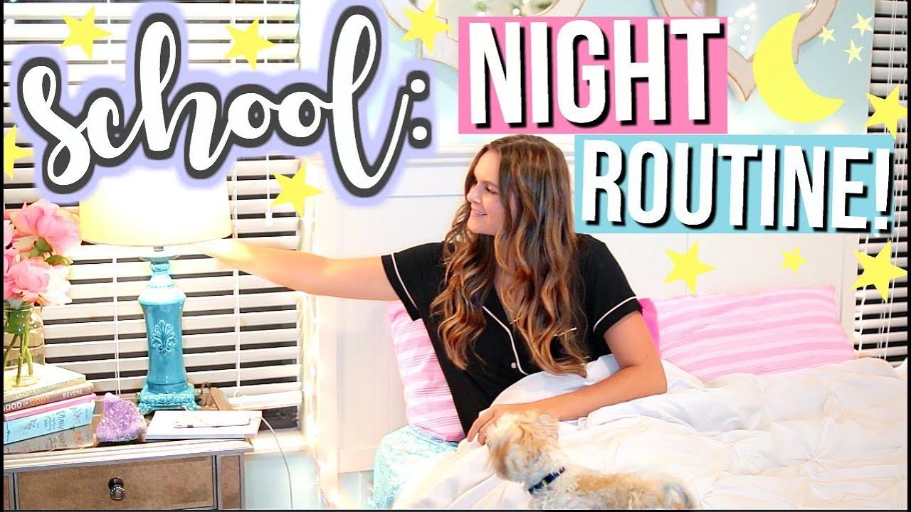 Night Routine for School! | Jessica Reid - YouTube