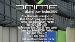 prime aluminium extrusion lahore pakistan