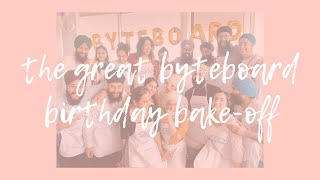 The Great Byteboard Birthday Bake-off!