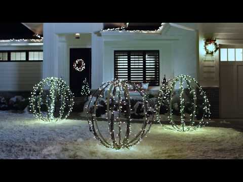 Lowe's Lawn Ornaments Holiday Commercial - with Big Swede music