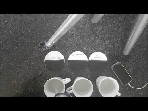 [31] Heat test on three types of resin coasters (Art Resin / Mastercast 1-2-1 /  Ultracast XT)