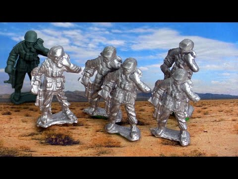How To make an Army Of Metal Soldiers (Mold Making)