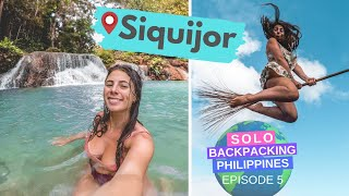 One of Backpacking Bananas's most viewed videos: THE VERY BEST OF SIQUIJOR + APO ISLAND // Solo Backpacking the Philippines