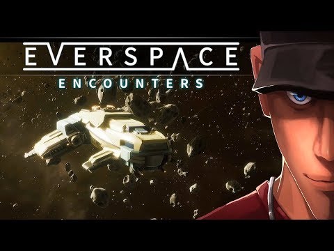 EVERSPACE Encounters Part 3 BLACKHOLE and SETH Nobu First Fight | Let's play Everspace  Gameplay