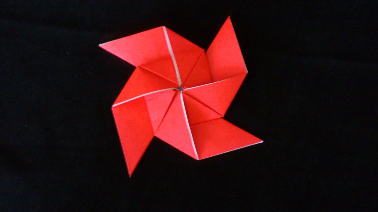 origami how to make a ninja star