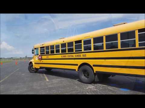 2017 School Bus Roadeo + Transferring Buses back to Yard Afterwards