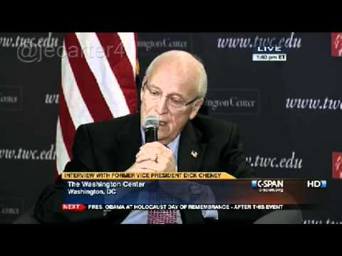 Dick Cheney still claims waterboarding is legal, isn't torture