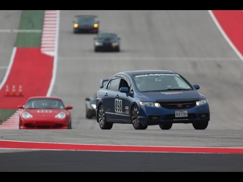 Honda Civic Si - Circuit of the Americas (COTA) 12.7.14 | K-TUNED Exhaust + Header