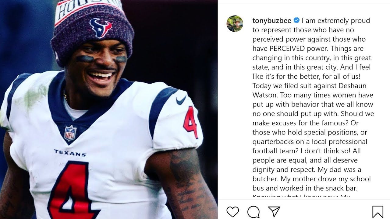 Texans QB Deshaun Watson denies allegations in sexual assault ...