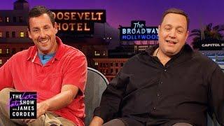 Kevin James & Adam Sandler: Loving, but Uncool Dads