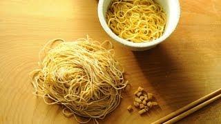 How To Make Ramen Noodles - Wonton Soup Ep. 5