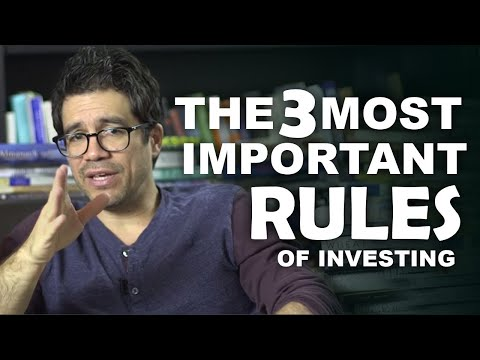 The 3 Most Important Rules of Investing