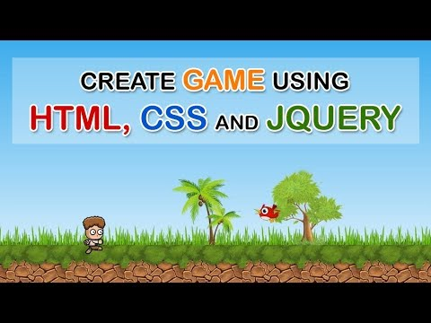 Create 2D Platform Game Using HTML, CSS And JQuery - Download Free Project