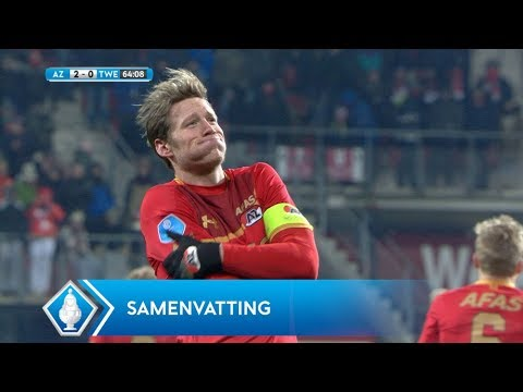 Samenvatting TOTO KNVB Beker: AZ - FC Twente (28/2/2018)